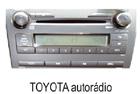 Toyota autorádio 6