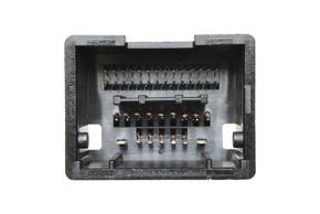 Adaptér pro ovládání na volantu Opel / Chevrolet - detail konektoru