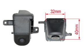 Parkovací kamera Land Rover Discovery - rozměry