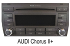 Audi autorádio Chorus II+