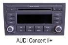 Audi autorádio Concert II+