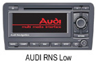 Audi navigace RNS Low