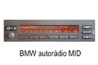 BMW autorádio MID