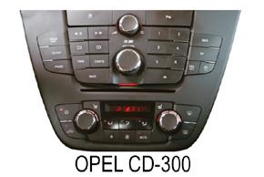 Opel autorádio CD300