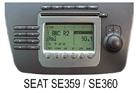 SEAT autorádio SE259/SE360