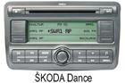Škoda autorádio Dance