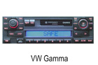 VW autorádio Gamma