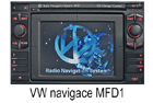 VW navigace MFD1