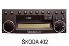 Škoda autorádio 402