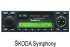 Škoda autorádio Symphony CC