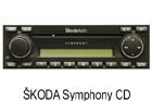 Škoda autorádio Symphony CD