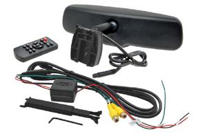 AK-043LA monitor v zrcátku Audi, VW - obsah balení