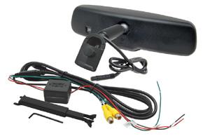 AK-043LA monitor v zrcátku Honda, Mitsubishi, Suzuki - obsah balení