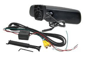 AK-043LA monitor v zrcátku ztmavovací - BMW, Peugeot - balení