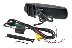 AK-043LAD monitor v zrcátku ztmavovací - Fiat - obsah balení