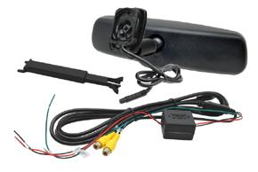 AK-043LAD monitor v zrcátku ztmavovací Hyundai, Kia - obsah balení
