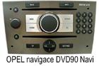 Opel navigace DVD90 Navi