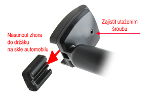 AK-043LA monitor v zrcátku - instalace do automobilu