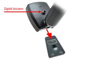 AK-043LAD monitor v zrcátku ztmavovací  Fiat - způsob instalace do automobilu