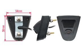 CCD přední parkovací kamera Honda CR-V (2012->) - rozměry