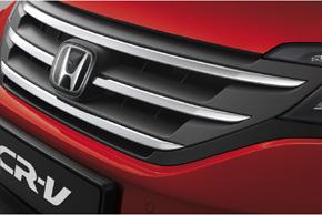 CCD přední parkovací kamera Honda CR-V (2012->) - v automobilu