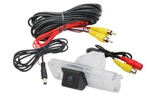 CCD parkovací kamera Hyundai Santa Fe (2012->) - obsah balení