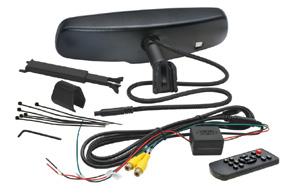 AK-043LA monitor v zrcátku Ford, Toyota, Mitsubishi - obsah balení