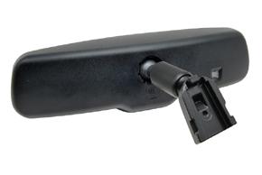 AK-043LAD monitor v zrcátku Honda, Mitsubishi, Suzuki - detail upevnění na sklo