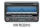 VW autorádio RCD310