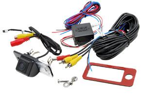 CCD parkovací kamera Audi A3 / A4 / A6 / Q7... - obsah balení