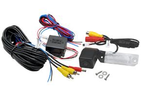 CCD parkovací kamera VW / Škoda - obsah balení