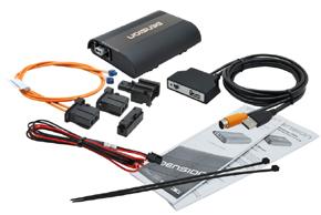 GATEWAY 500S iPod / USB / AUX vstup - obsah balení