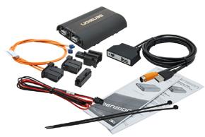 GATEWAY 500S iPOD/ USB / AUX vstup - obsah balení