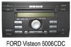 Ford autorádio Visteon 6006CDC