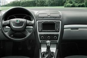 Interiér automobilu Octavia III. (9/08-)