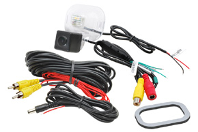 CCD parkovací kamera Hyundai ix20 / Kia Venga - obsah balení