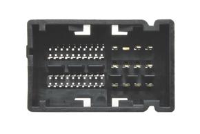 ISO adaptér pro autorádia Fiat 500L - detail