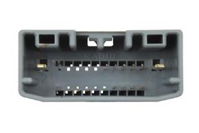 Adaptér pro ovládání na volantu Chrysler / Jeep - detail konektoru