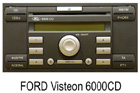 Ford autorádio Visteon 6000CD