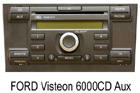 Ford autorádio Visteon 6000CD+AUX