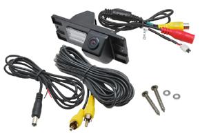 CCD parkovací kamera Mitsubishi Pajero - obsah balení