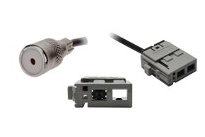 Anténní adaptér ISO - Subaru - detail konektoru