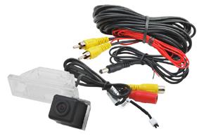 CCD parkovací kamera Nissan Juke - obsah balení