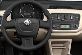 Škoda Citigo - interiér
