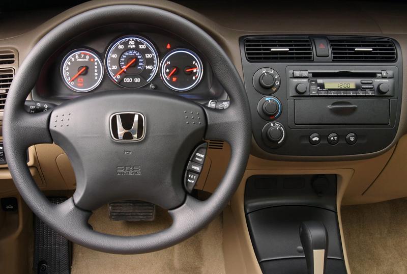 Rámeček 2DIN rádia Honda Civic (01-05)