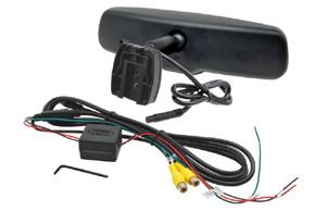 AK-043LA monitor v zrcátku Subaru Legacy / Outback - obsah balení