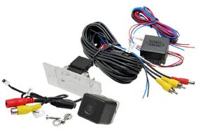 CCD parkovací kamera VW Golf V. / Škoda Yeti - obsah balení