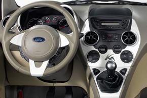 Ford Ka (2009->) - interiér