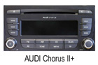 Audi autorádio Chorus II.+