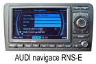Audi navigace RNS-E